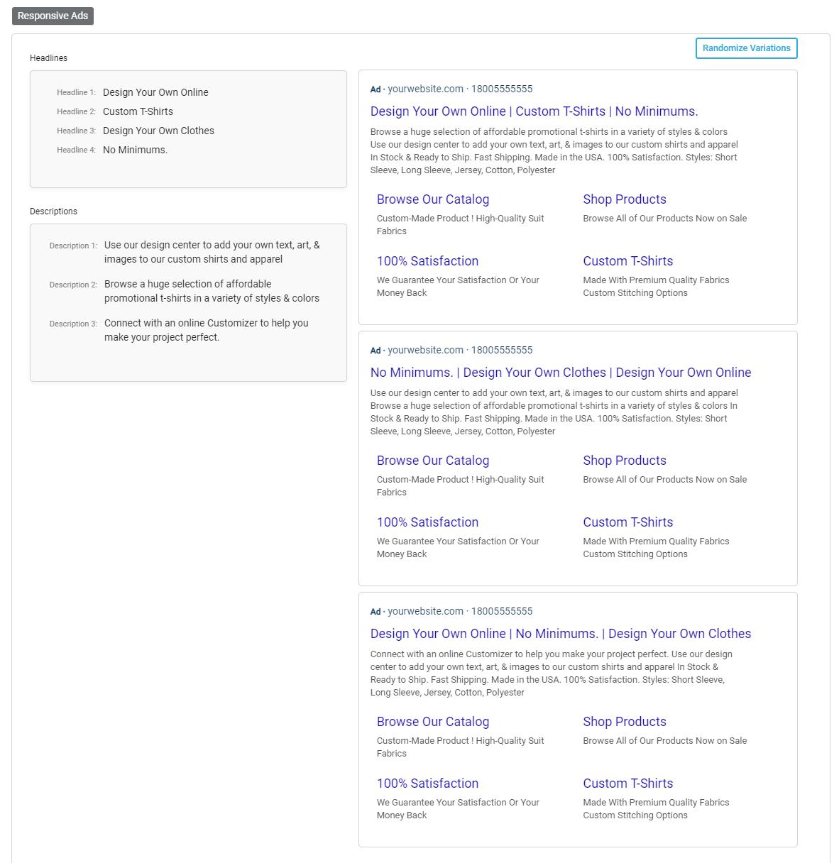 Google Responsive Ads Generator Preview Tool