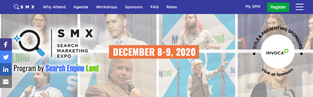 What You Can't Afford to Miss from SMX Virtual: December 8-9, 2020